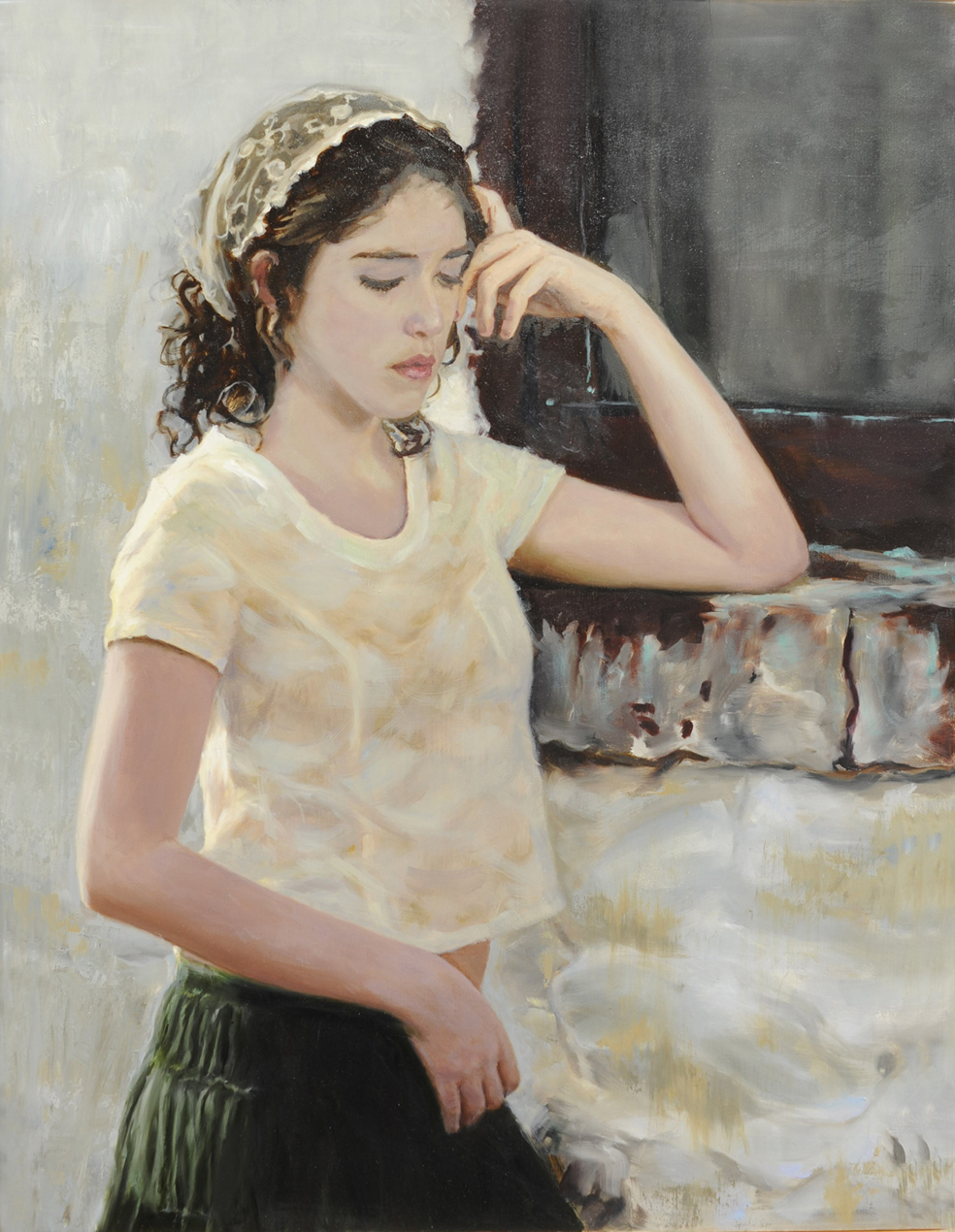 Commission portrait painter, oil paintings by Mark E. Lovett, fine artist, serving Maryland, Virginia and DC.