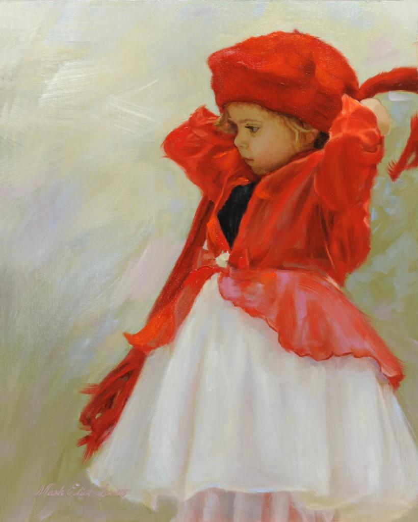 Award winning children oil paintings by Mark E. Lovett, commission portrait painter fine artist  serving Maryland, Virginia and DC.
