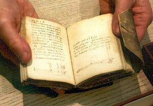 Leonardo daVinci Notebook